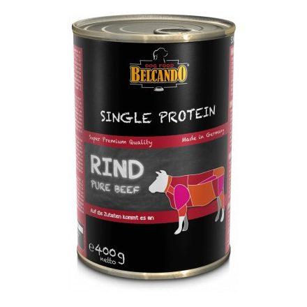 Belcando 400 gr szín marhahús (csak egyfajta fehérje)