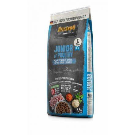 Belcando Junior GF Baromfival 12,5 kg (gabona nélkül) - friss hússal