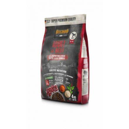 Belcando Adult GF Marhahússal 4 kg (gabona nélkül) - friss hússal