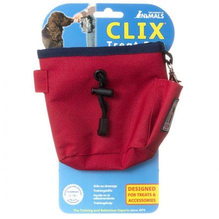 Clix treat Bag piros